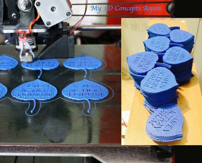 Aspem Action Forum 3D printed leafs