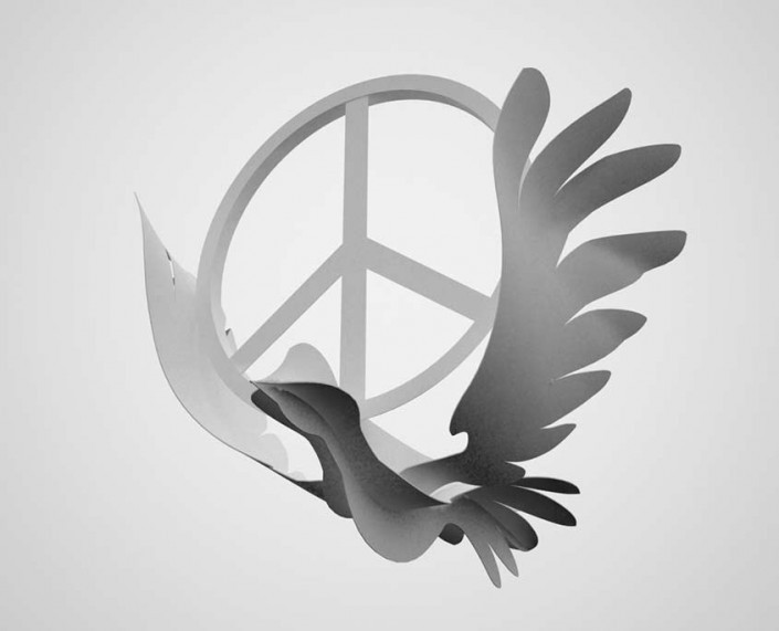 Peace Bird 3D printing project