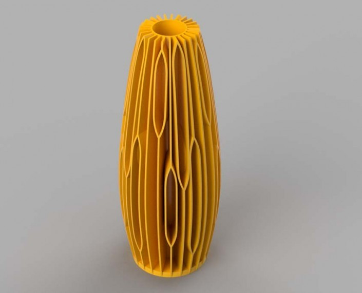 3D printed cactus vase, 3D modeling services