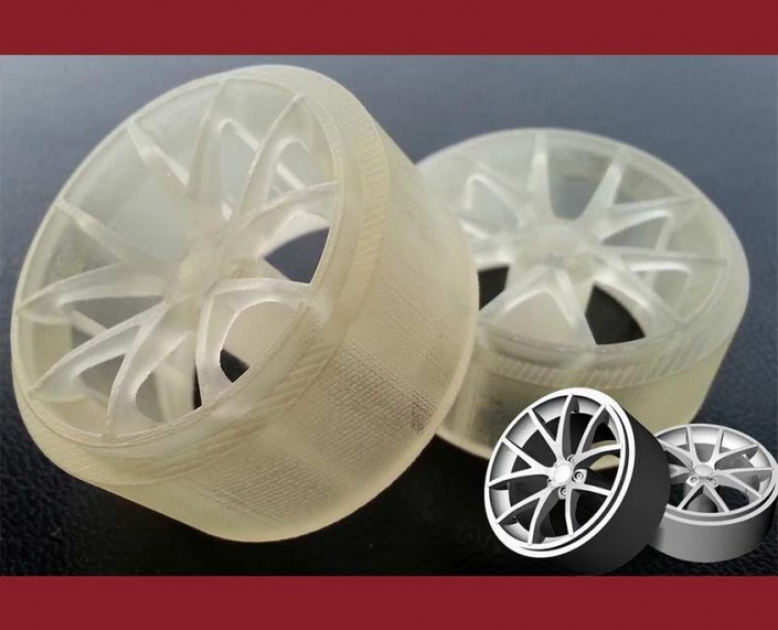 3D printed wheels