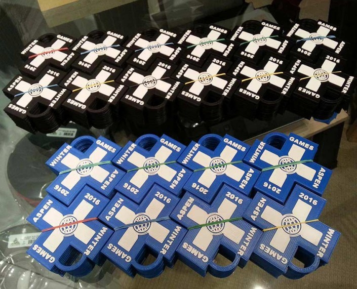 X-games 3D printed keychains