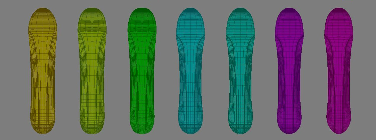 3d modeling ground swell snowcraft