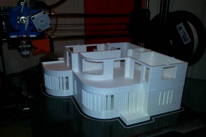 3d printing top floor building