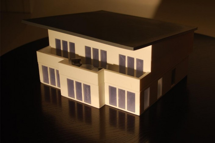 3d printed house FDM
