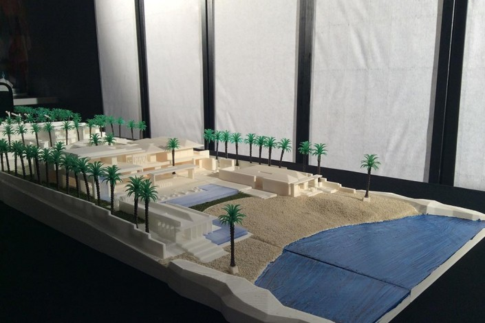 amazing 3d printed beach front