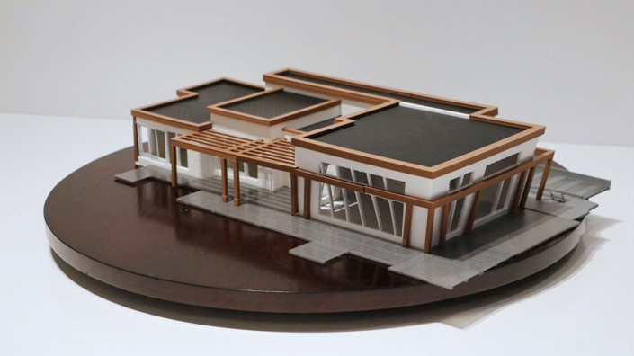 3D printed scale model house