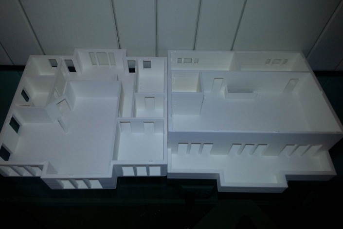 3d printed architectural floor plans