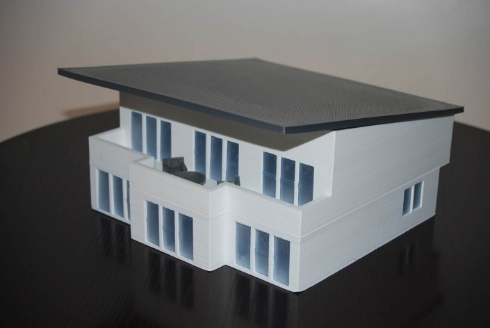 3d printed house completed