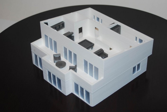 3d printed house roofless