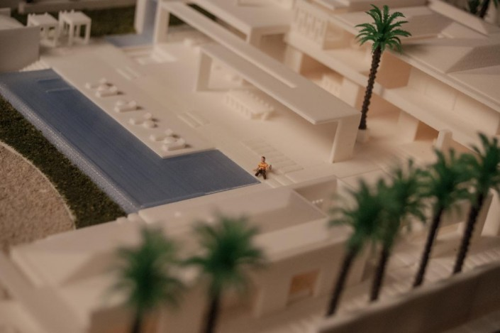 3d printed pool and interiors