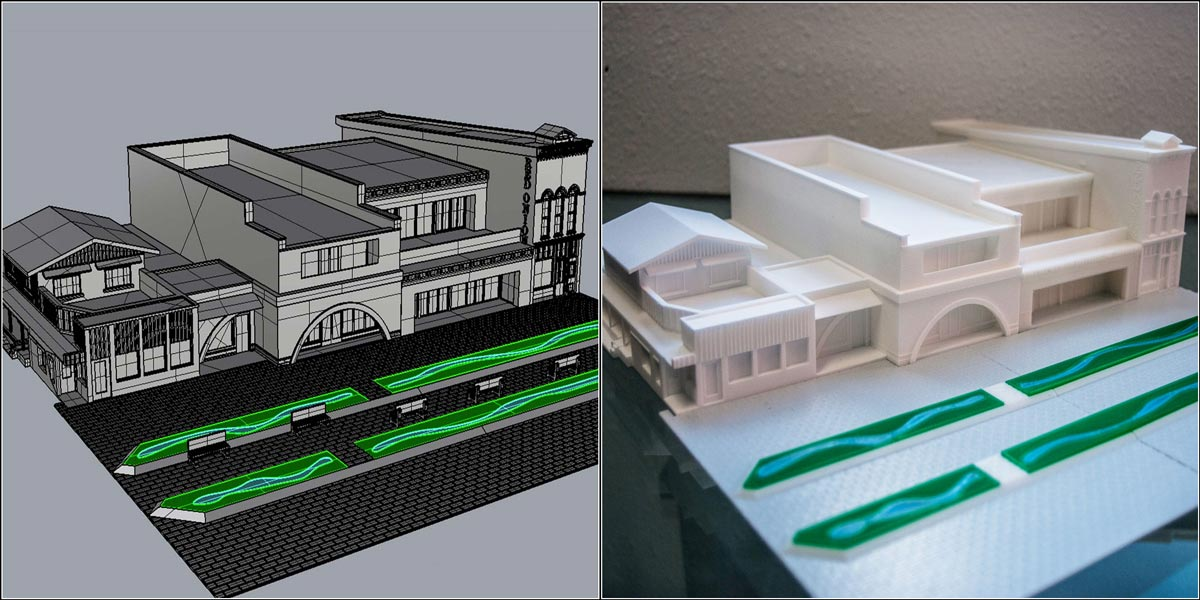 3d Printing benefits for architects - completely digital workflow