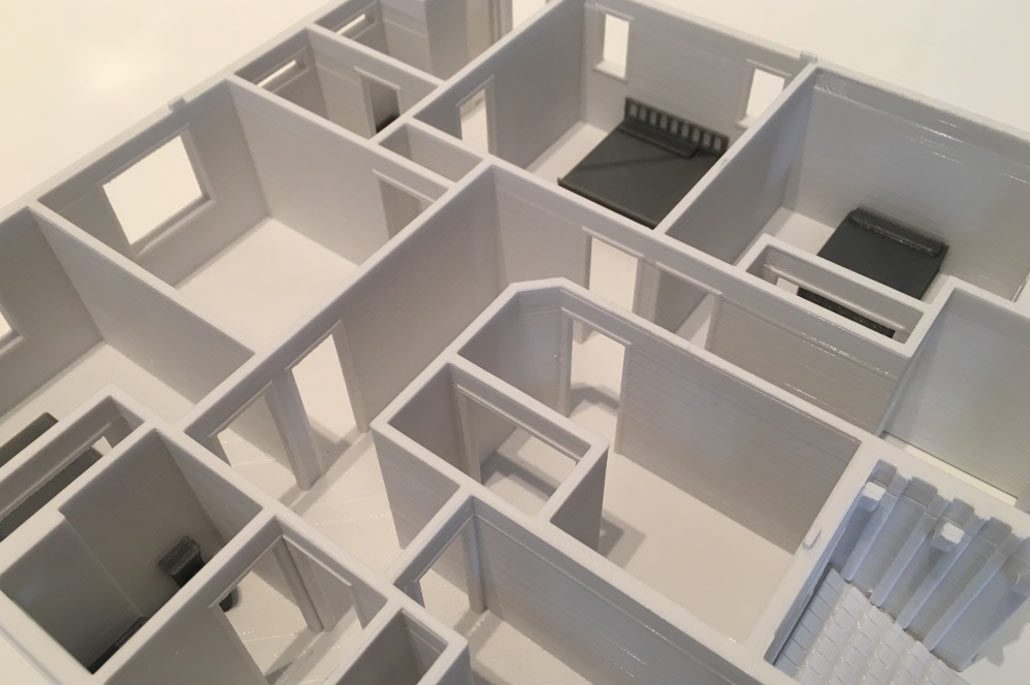 3d Printing Architectural Scale Models For A Fraction Of The Cost