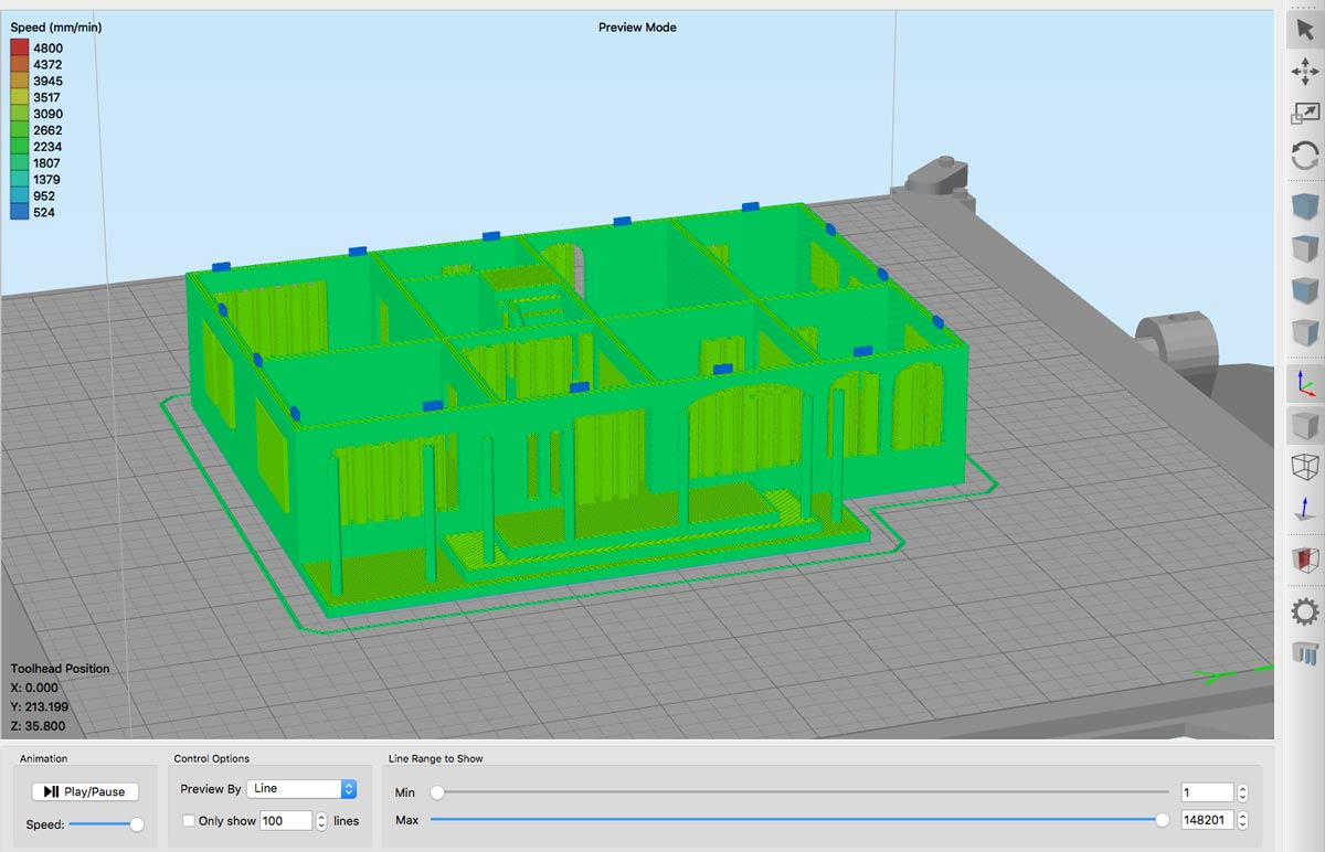 What Do You Need To Create 3d Printed Architectural Scale Models In Diagram Software Printing